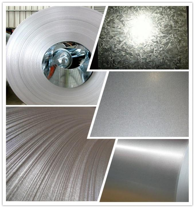 Hot Dipped Galvanized Steel Strip , Galvanized Corrugated Steel Sheet