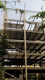 Chiny High Rise Steel Structures , Painting Galvanized Construction Steel Structure dostawca