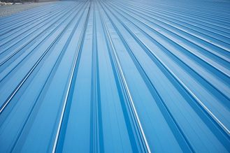 Chiny Erosion Proof Corrugated Galvanized Steel Roofing Sheets Of Inter - Lock Type dostawca