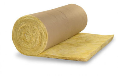 Chiny High Performance Ceiling  Fiber Glass Wool Insulation Eco Friendly dostawca