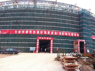 Chiny High Rise Building Structures , Building House With Steel Frame dostawca