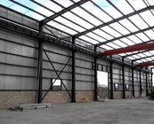 Anti Corrosion Steel Structure Office Or Workshop  With Wall & Roof