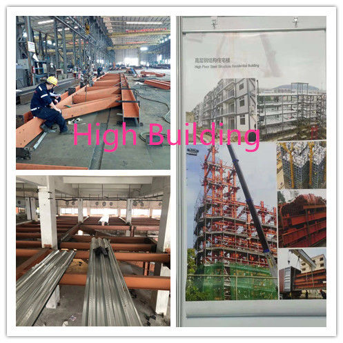 BS / ASTM Standard Muti - Function Garage Steel Frame Building With Several Floors