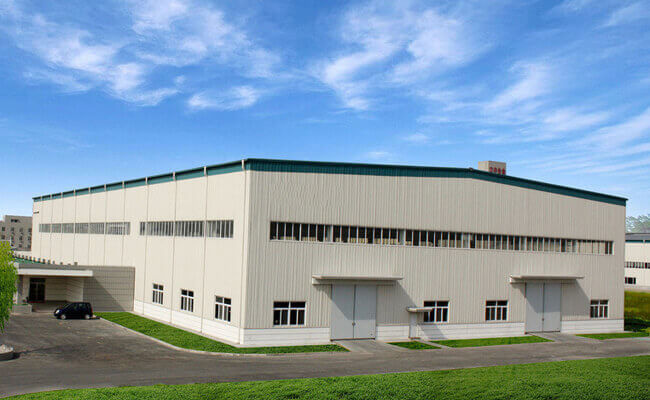 Size 44*66M Portal Steel Structure Warehouse With Single Claddying System At 830#