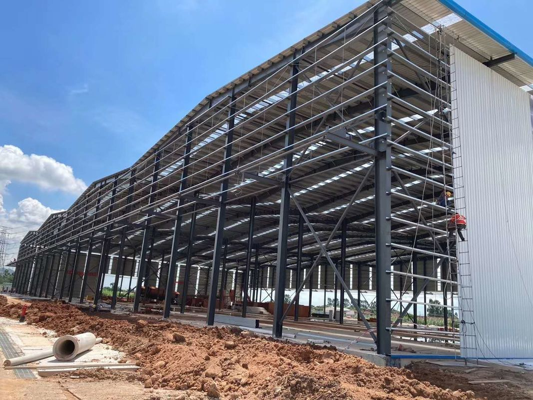 Steel Structure Materials for Poultry Farm Structure Builiding