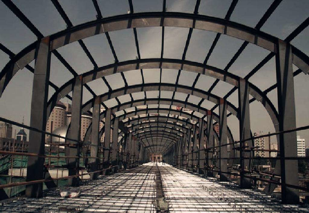 Customized Size Poultry Farm Steel Structure Sheds With Lighting