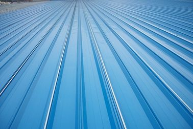 Chiny Erosion Proof Corrugated Galvanized Steel Roofing Sheets Of Inter - Lock Type fabryka