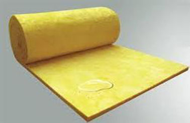Chiny High Temperature 1000mm Glass Wool Insulation Blanket For Sandwish fabryka