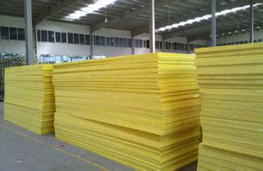 Chiny 50mm Flame Resistant Glass Wool Pipe Insulation For External Walls dystrybutor