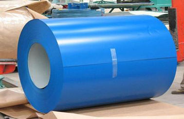 Chiny Buildings Roofing Systems Prepainted Galvalume Steel Coil Blue For Steel Tiles fabryka