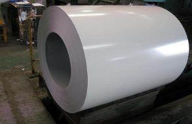 Chiny White Prepainted Galvalume Steel Coil For Refrigerated Wagon fabryka
