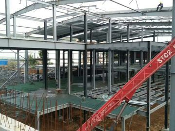 Chiny Multi - Floor Building Steel Frame Fabrication With Aluminum Alloy Window\ dystrybutor